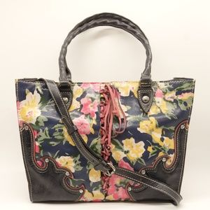 NWT PATRICIA NASH Secret Garden Leather Tote